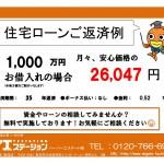 新潟市中央区川端町のマンションの住宅ローン返済例