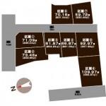 妙高市諏訪町の【土地】不動産情報の敷地図