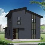 三条市嘉坪川1丁目の新築住宅の写真