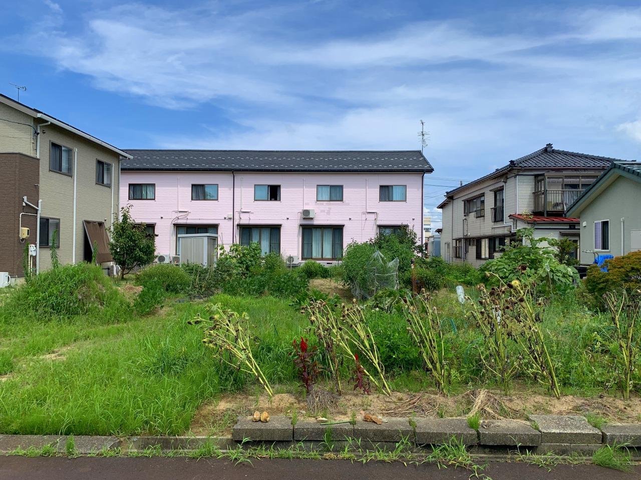 燕市吉田の土地の写真