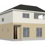 新潟市東区豊5号棟の新築住宅の写真