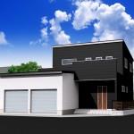 建物プラン例区画8(外観)