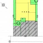 新潟市西区小針藤山の土地の建物プラン例の配置図