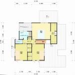 新潟市中央区長潟の土地の建物プラン例の2階間取図