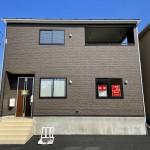 新潟市北区松浜新町の新築住宅1号棟の写真