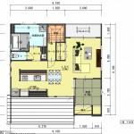 新潟市中央区新和の土地の建物プランの2階間取図