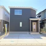 新潟市江南区五月町の【新築住宅《全2棟》】の1号棟の外観写真