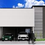 新潟市中央区新和の土地の建物プランのパース
