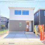 新潟市江南区五月町の【新築住宅《全2棟》】の2号棟外観写真