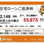 新潟市東区下場の【中古住宅】不動産情報の返済例