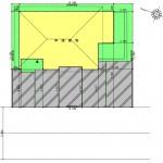 新潟市東区上木戸の【土地・分譲地《区画7》】建物プラン例の配置図