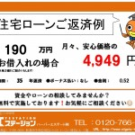 新潟市中央区関屋金衛町のマンションの住宅ローン返済例