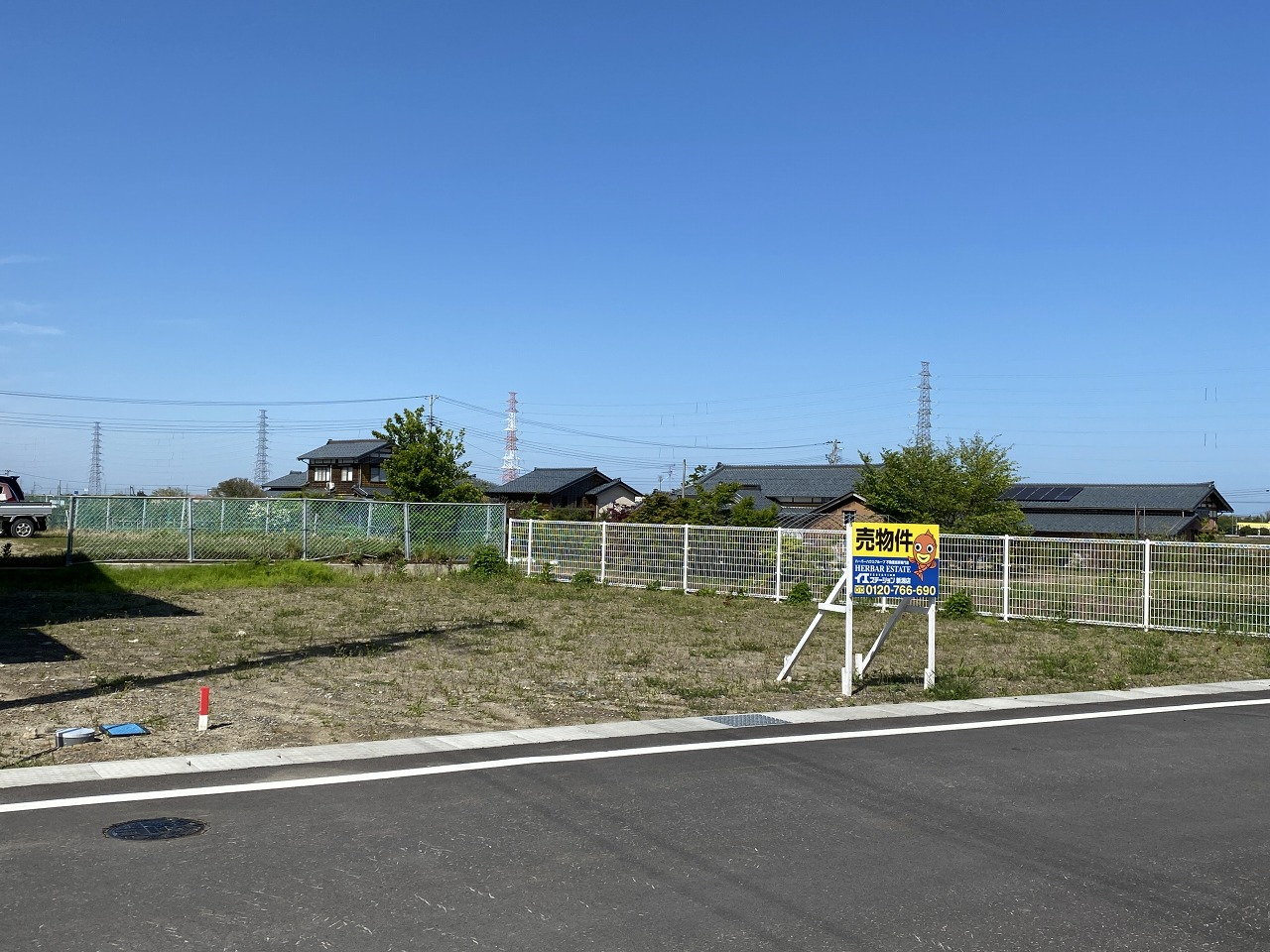 北蒲原郡聖籠町の土地の写真