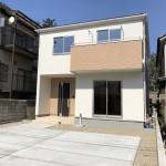 新潟市西区西有明町の新築住宅の写真