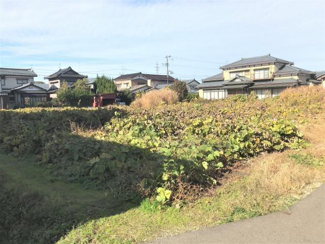 三条市曲渕の土地の写真
