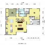 新潟市東区上木戸の【土地・分譲地《区画6》】建物プラン例の1階間取図