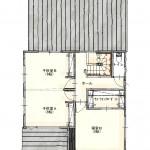 新潟市中央区鳥屋野の土地の建物プラン例の2階間取り図