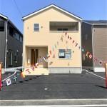 新潟市秋葉区金沢町の【新築住宅】2号棟の外観写真