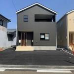 新潟市秋葉区金沢町の【新築住宅】1号棟の外観写真
