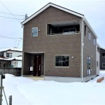 五泉市旭町の新築住宅1号棟の写真