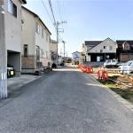 新潟市東区海老ケ瀬新町の土地・分譲地《全10区画》の写真(前面道路)