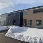 北蒲原郡聖籠町の新築住宅の外観写真