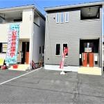 新潟市東区逢谷内の新築住宅2号棟の外観