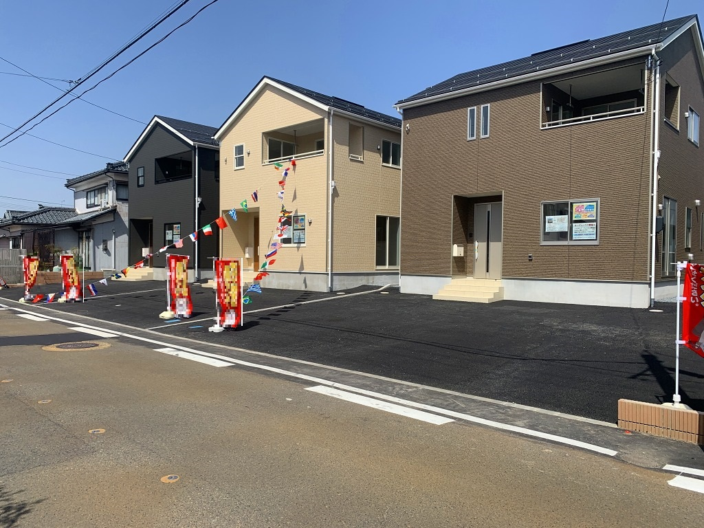 新潟市秋葉区金沢町の【新築住宅】の外観写真
