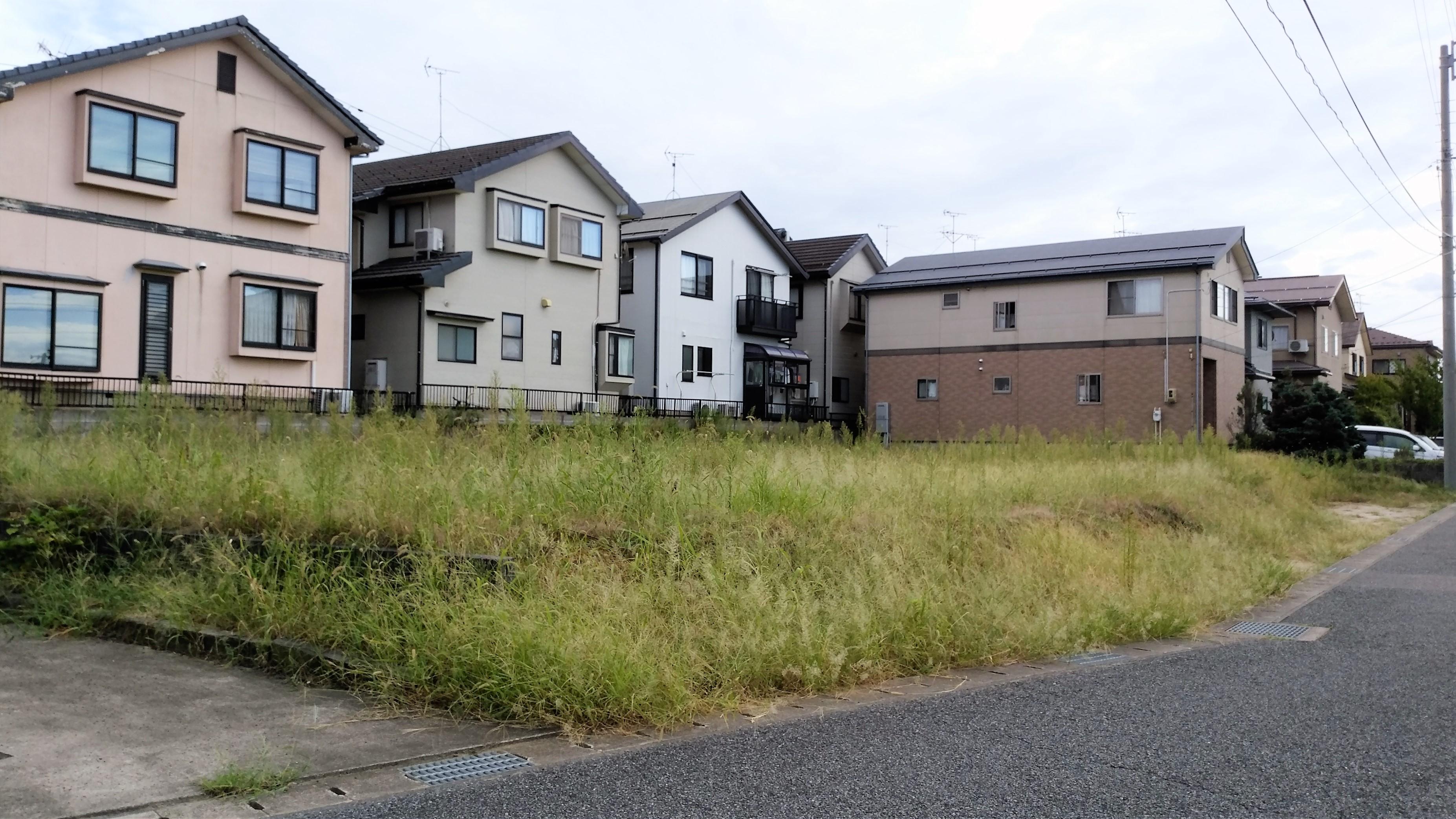 新潟市西区五十嵐の新築住宅の写真