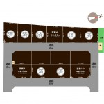 新潟市東区海老ケ瀬新町の土地の敷地図(敷地図)