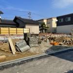 新潟市北区松浜新町の新築住宅の写真