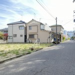 新潟市中央区水道町の土地の写真