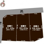 長野県千曲市稲荷山の【土地・分譲地・区画A〈全3区画〉】不動産情報*ckm2021010002