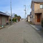 新潟市東区上木戸の【中古住宅】不動産情報の前面道路