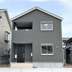 東区北葉町の新築住宅の外観写真