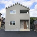 新発田市本町の新築住宅の1号棟外観写真