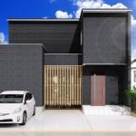 新潟市江南区城所の【分譲地】区画1の建物プラン例の外観パース