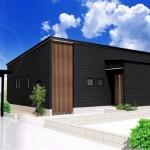 新発田市豊町3丁目の土地の建物プラン例の外観パース