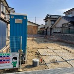 新潟市北区松浜の新築住宅の写真