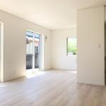 新潟市東区紫竹の新築住宅1号棟の写真