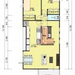 新潟市中央区関屋昭和町の【土地】不動産情報(建物プラン提案付)の2階間取図