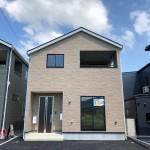 新潟市北区嘉山の新築住宅1号棟の外観写真