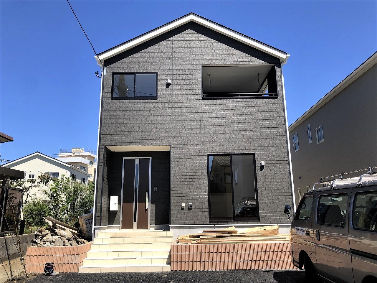 新潟市西区坂井の新築住宅1号棟の写真