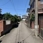 新潟市西区小針の【土地】の写真
