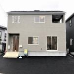 新発田市城北町の新築住宅1号棟の写真