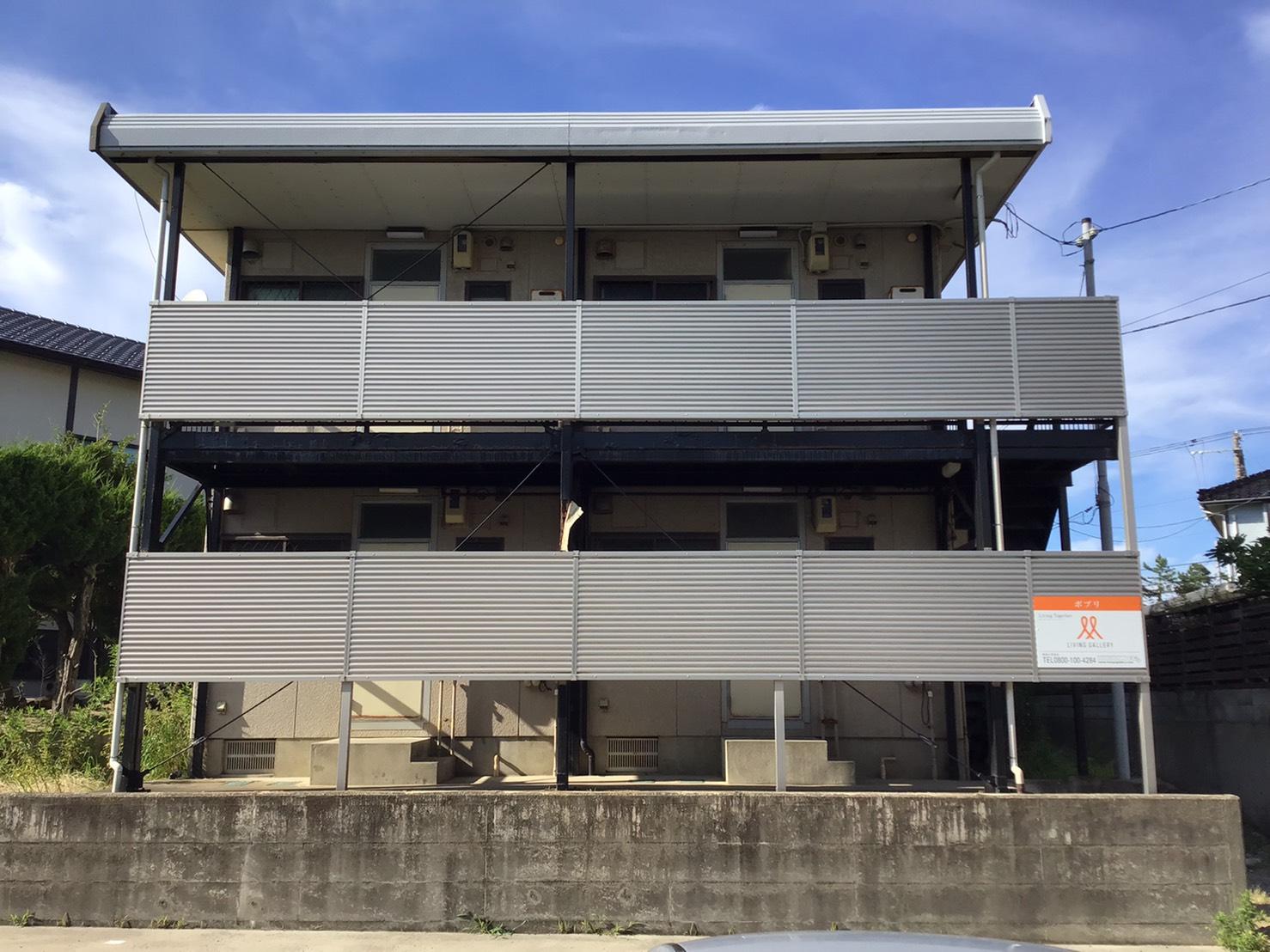 新潟市西区五十嵐二の町の中古アパートの写真