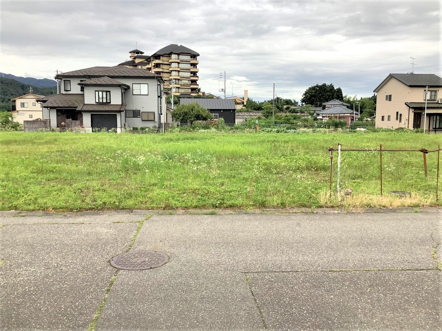 新発田市月岡温泉の【土地】の写真