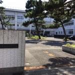 新潟市中央区浜浦町の中古アパートの周辺環境(関屋中学校)