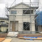 新潟市西区五十嵐1の町の新築住宅の写真
